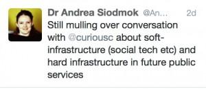 Andrea tweet