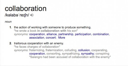 Collaboration:  Do you need to slow it down and do it right?
