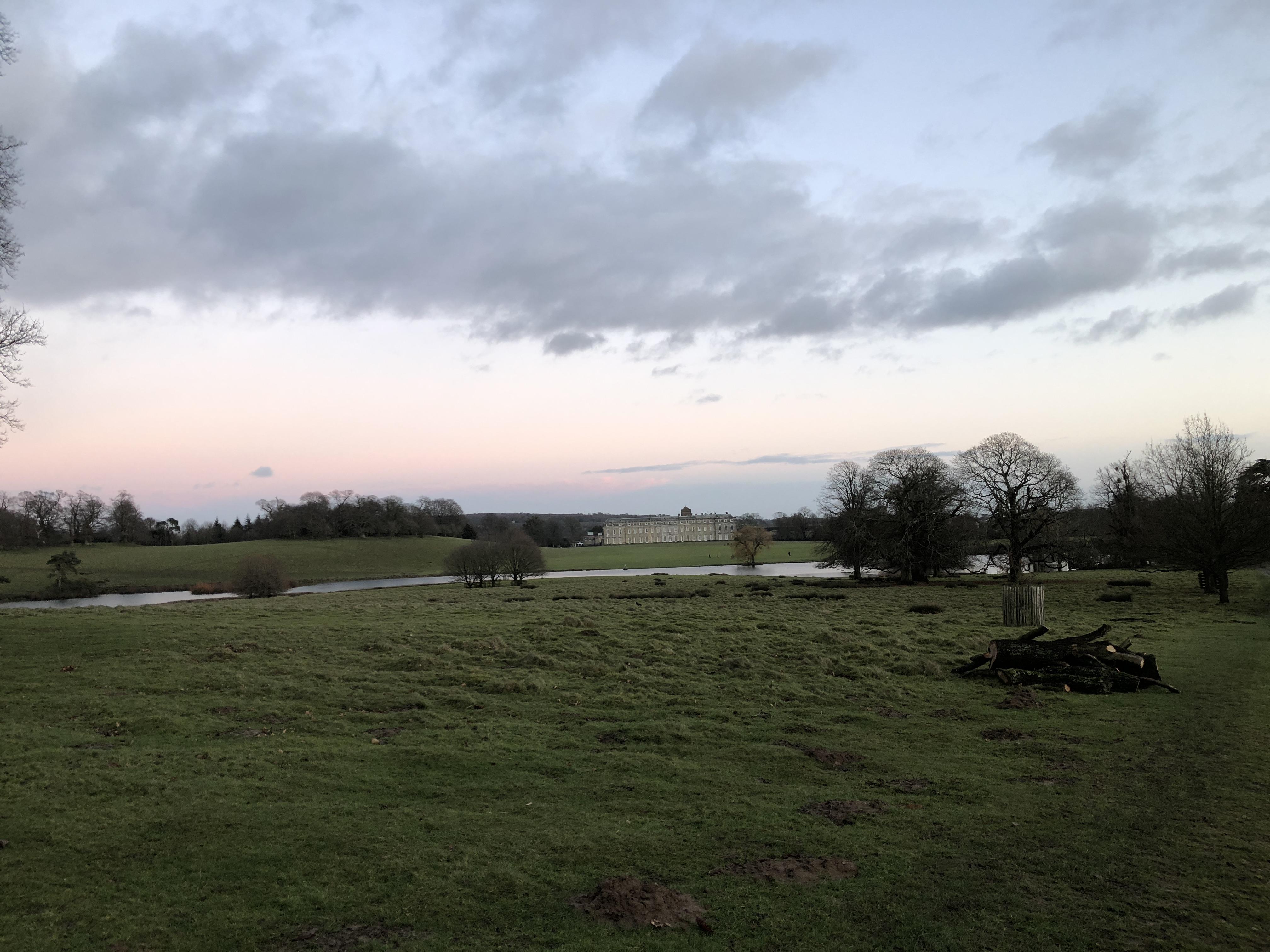 Pulborough brooks at sunset