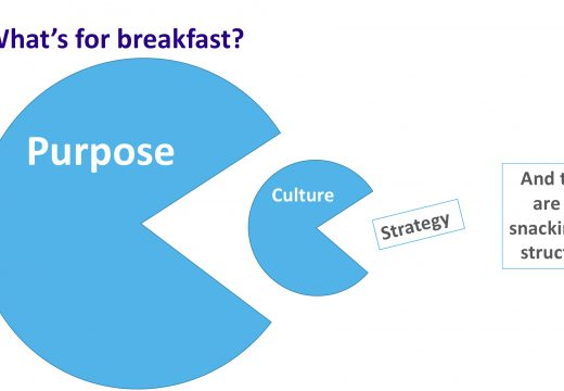 In which purpose demolishes culture while culture is distracted eating strategy
