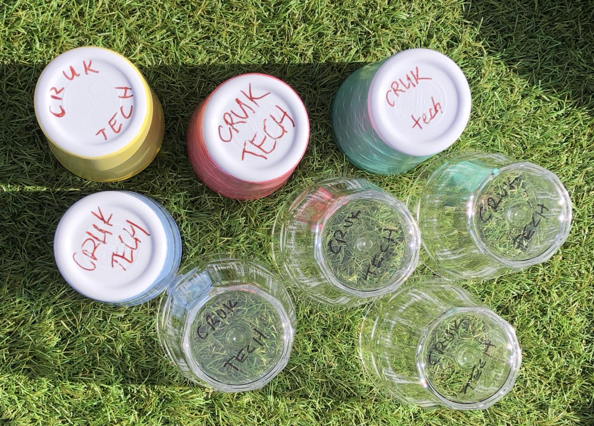 CRUK reusable cups